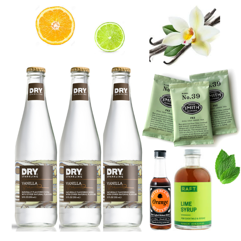 Crafted Taste Cocktail Kit Summer Iced Tea Sipper Mocktail - *SUMMER SPECIAL*