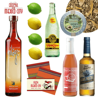 Crafted Taste Cocktail Kit Tales of the Cocktail | Mexico City 2015 Recap Kit