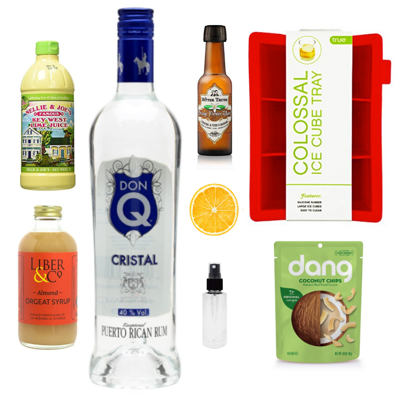 Crafted Taste Cocktail Kit The Swing State Cocktail Kit - Key Lime Liqueur and Don Q Rum Cocktails