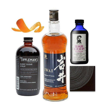 Crafted Taste Cocktail Kit Yakuza Old Fashioned Cocktail Kit