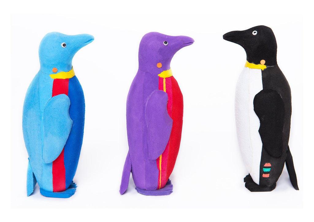 Small  Penguin Flip Flop Sculpture