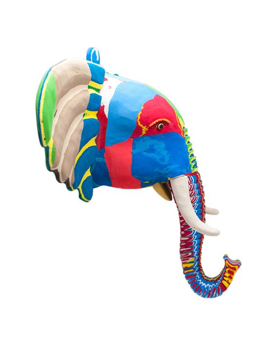 Extra Large Elephant Wall Art