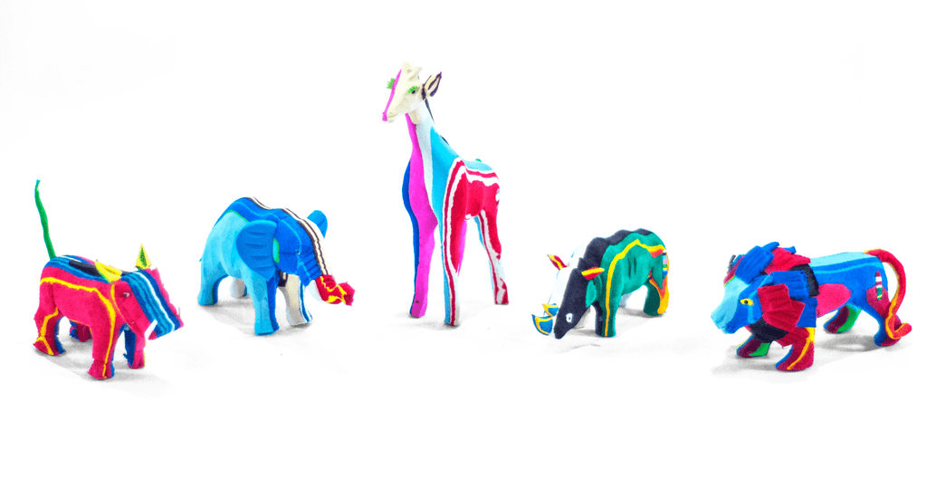 Small Safari Collection (Set of 5)