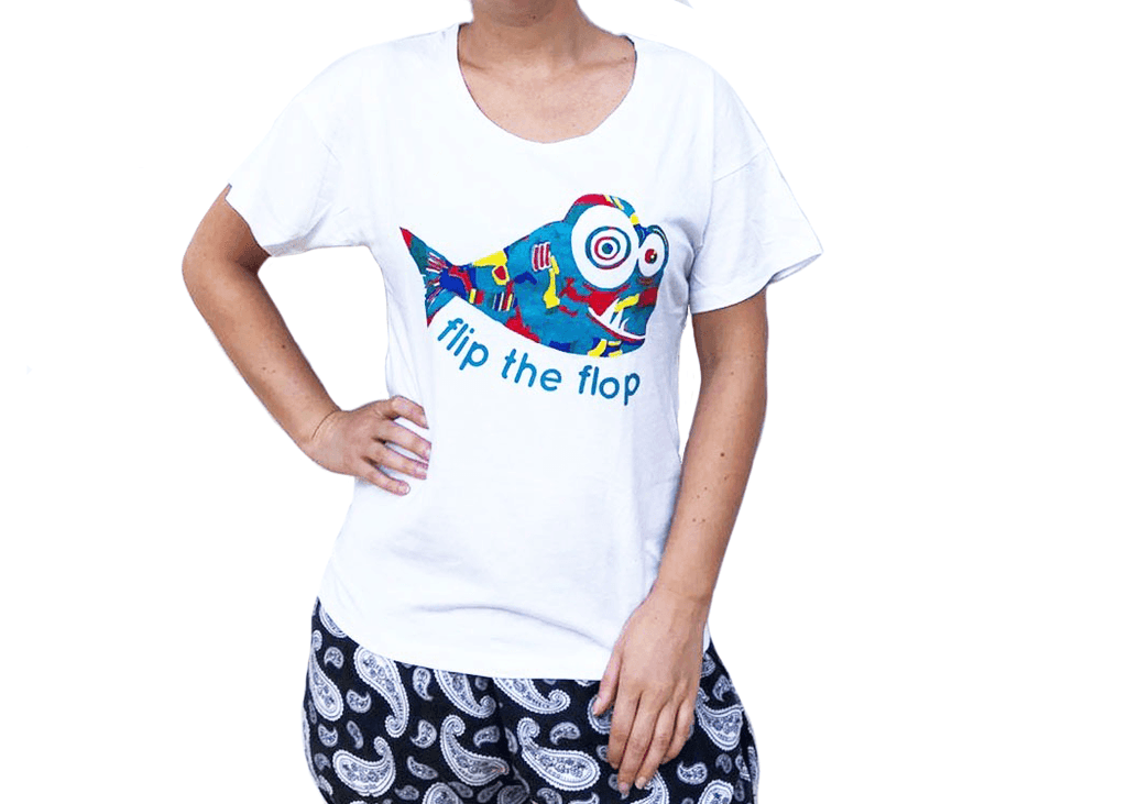 Flip The Flop Fish T-Shirt