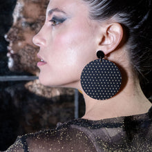 Load image into Gallery viewer, Earrings PLUS SIDE OVERSIZED DANGLES PLUS SIDE OVERSIZED DANGLES | Bold Round statement Earrings | MAINE+MARA Shop
