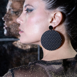 Earrings PLUS SIDE OVERSIZED DANGLES PLUS SIDE OVERSIZED DANGLES | Bold Round statement Earrings | MAINE+MARA Shop