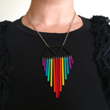 Load image into Gallery viewer, Jewellery RAINBOW CHIMES NECKLACE