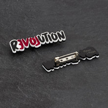 Load image into Gallery viewer, brooch LOVE REVOLUTION I BROOCH LOVE REVOLUTION  | Meaningful Statement Brooch | MAINE+MARA Shop