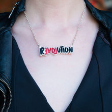 Load image into Gallery viewer, Necklace LOVE REVOLUTION I Statement Necklace LOVE REVOLUTION  | Meaningful Statement Necklace | MAINE+MARA Shop