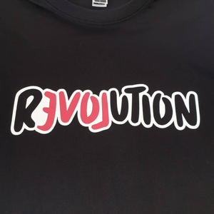 T-shirt BLACK / LOOSE / MEDIUM LOVE REVOLUTION T-SHIRT LOVE REVOLUTION I Handprinted Organic Cotton T-Shirt  | MAINE+MARA Shop