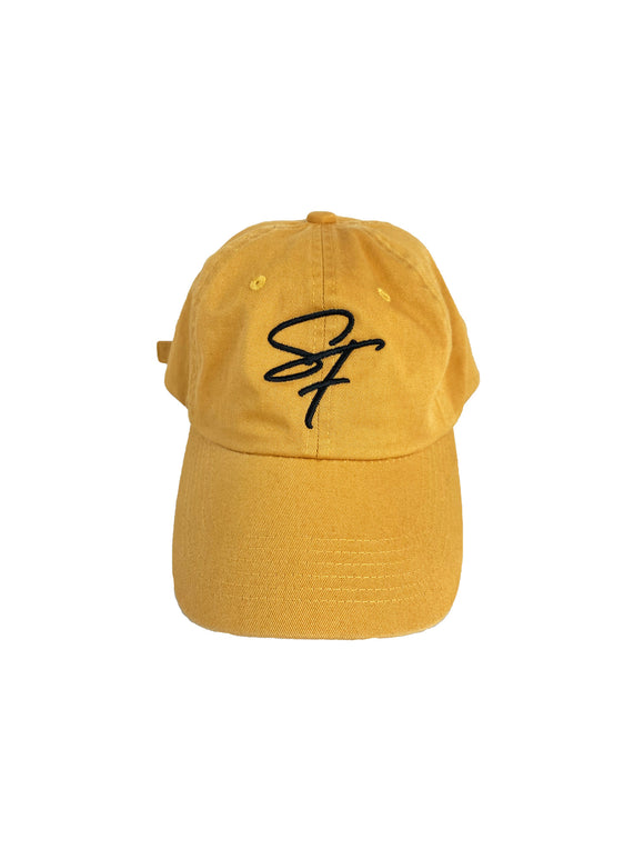 Signature Logo Fitted- Mustard Yellow