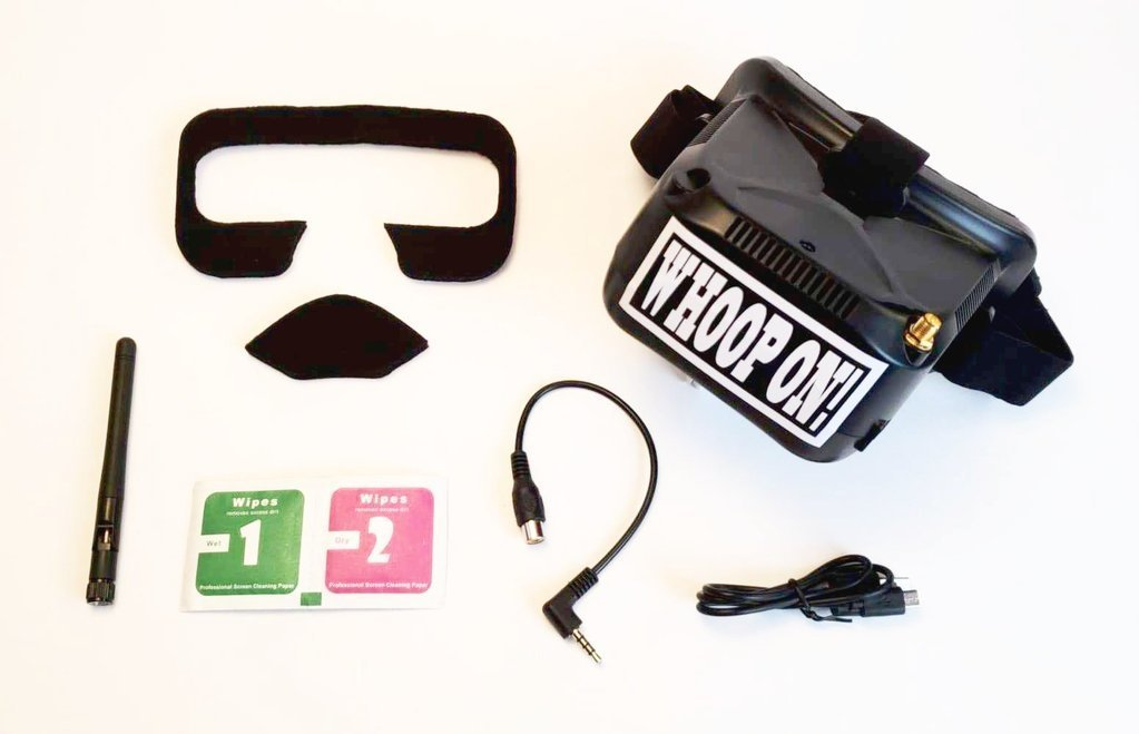 TinyWhoop TinyGoggles FPV Goggle