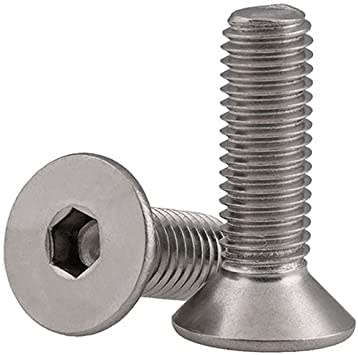 Full Send FPV 2mm Stainless Steel Flat Head Screw - 5 pack