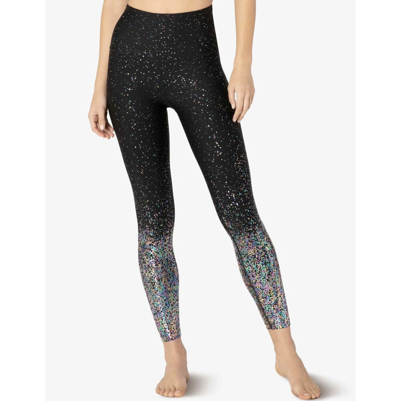 Alloy High Waisted Midi Leggings - Beyond Yoga