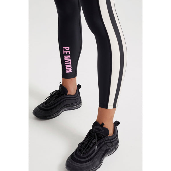 Bar Down Legging in Black - P.E Nation