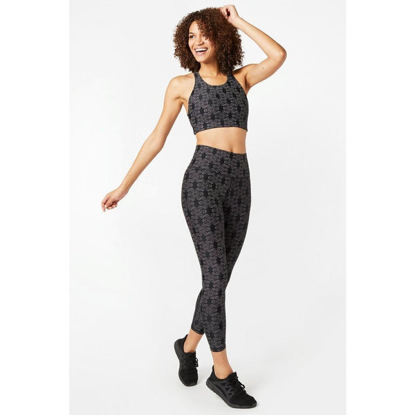 Floral Glow Gear Super-High Band Leggings - Terez