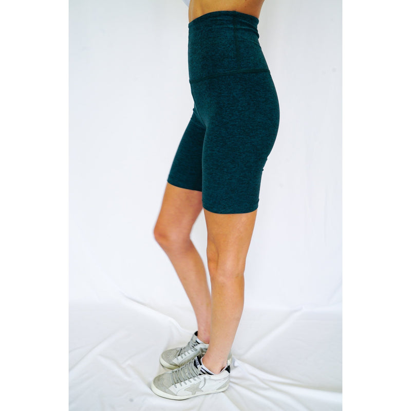 High Waisted Biker Short - Beyond Yoga