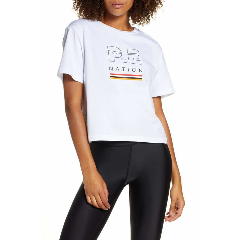 Ignition Cropped Tee - P.E Nation