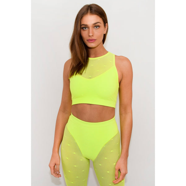 Racer Crop Top - Adam Selman Sport