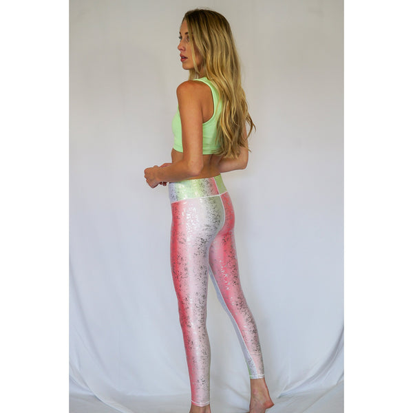 Snowcone Balayage Tall Band Leggings - Terez
