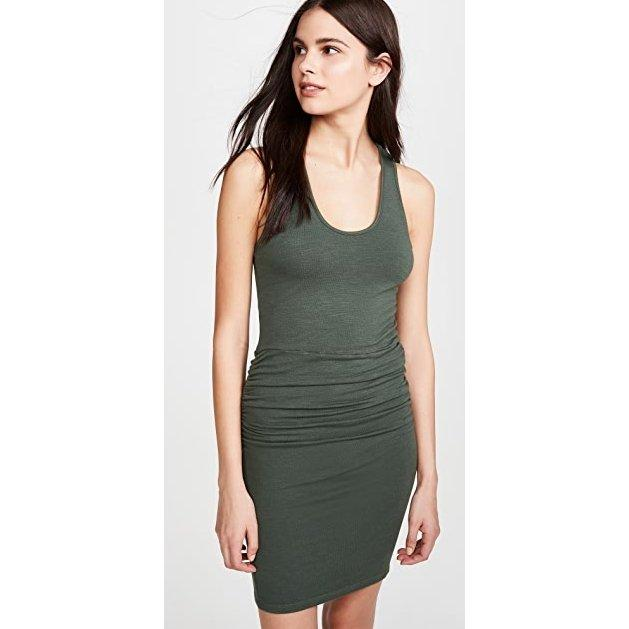 Supersoft Tank Shirred Dress - Monrow