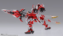 Load image into Gallery viewer, BANDAI METAL BUILD ガンダム アストレイ レッドフレーム改 オルタナティブストライク Ver. GUNDAM ASTRAY Red Frame Kai Alternative Strike