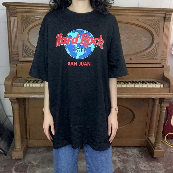 Vintage 90s | Hard Rock Cafe San Juan T Shirt | Size XL