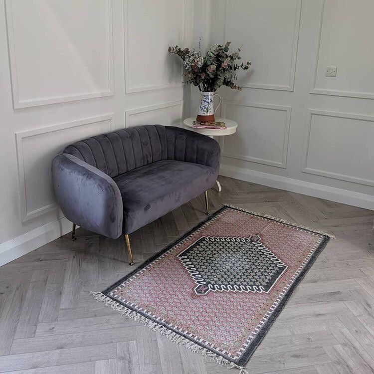 Oak Robust Grey Herringbone