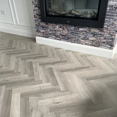 New Orleans Oak Herringbone