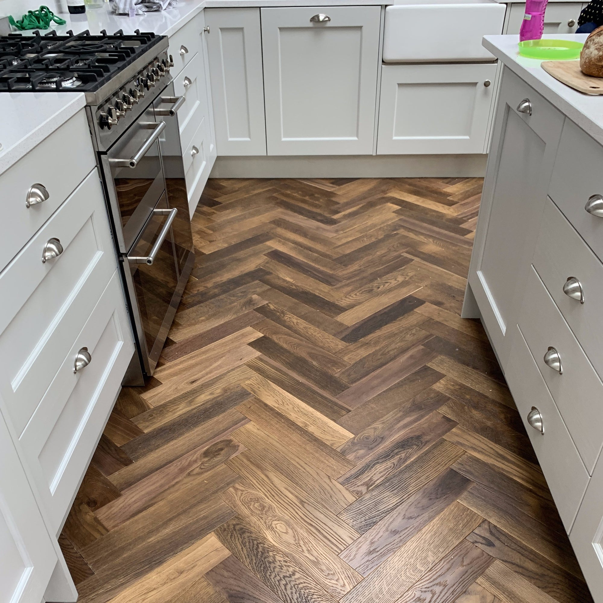 Oak Double Smoked Herringbone 90