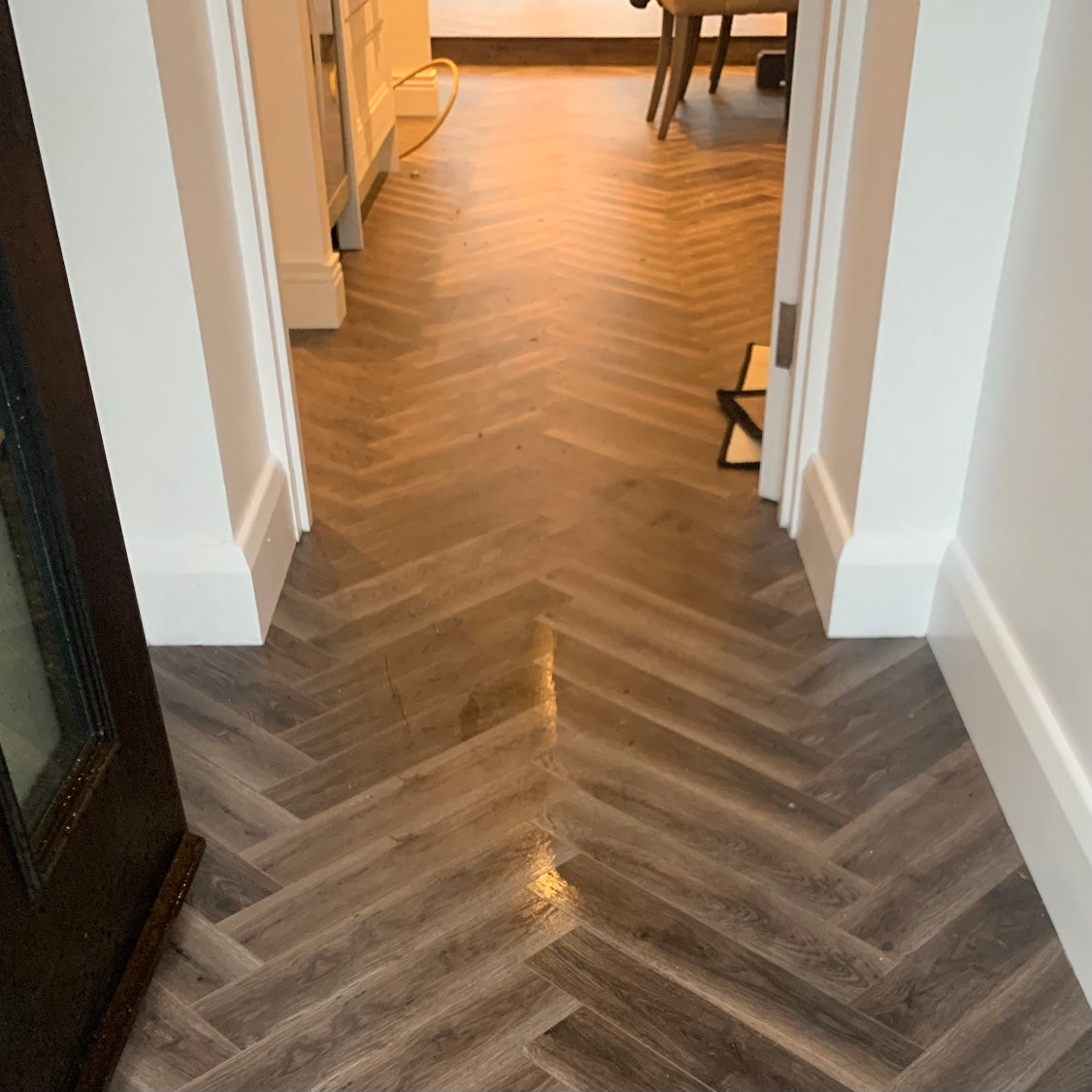 Smoulder Oak Herringbone
