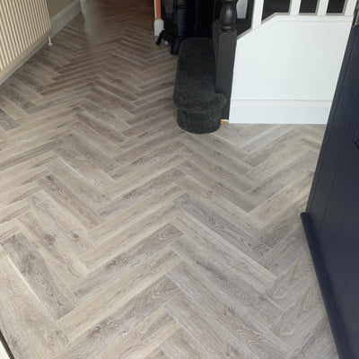 Loft Oak Herringbone