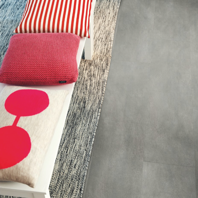Pergo Grey Soft Concrete Vinyl (Tile 4V)