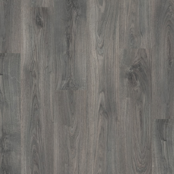 Pergo Dark Grey Oak Laminate (Classic Plank 4V)