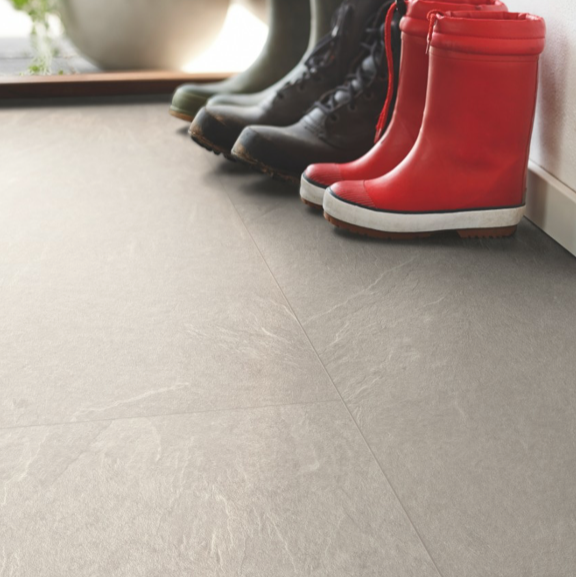 Pergo Alpaca Slate Tile Effect Laminate (Big Slab 4V)