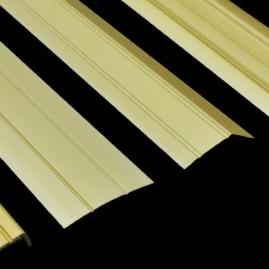 Gold Flooring Profiles