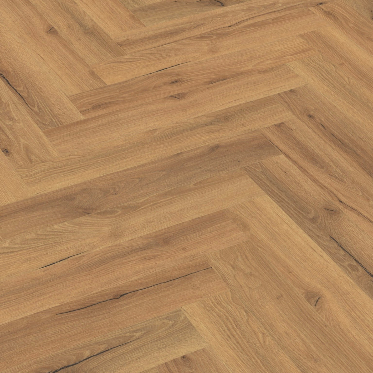 Ranch Oak Herringbone SPC