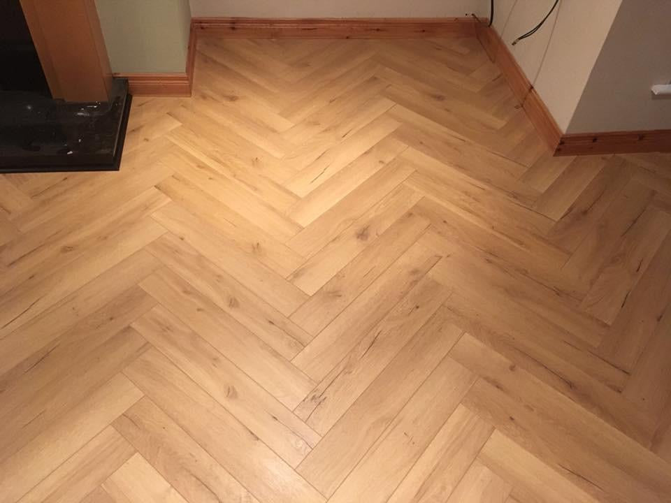 Konig Natural Oak Herringbone