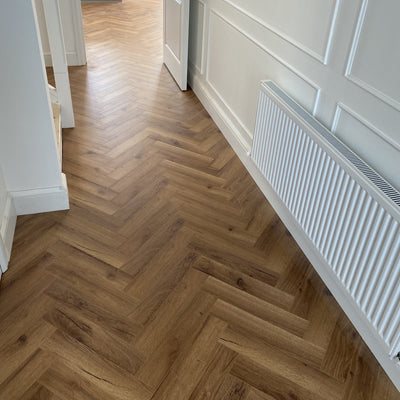 Konig Fumed Oak Herringbone