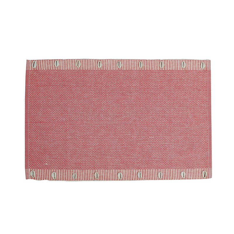 SEA SHELL Table Mats - RED