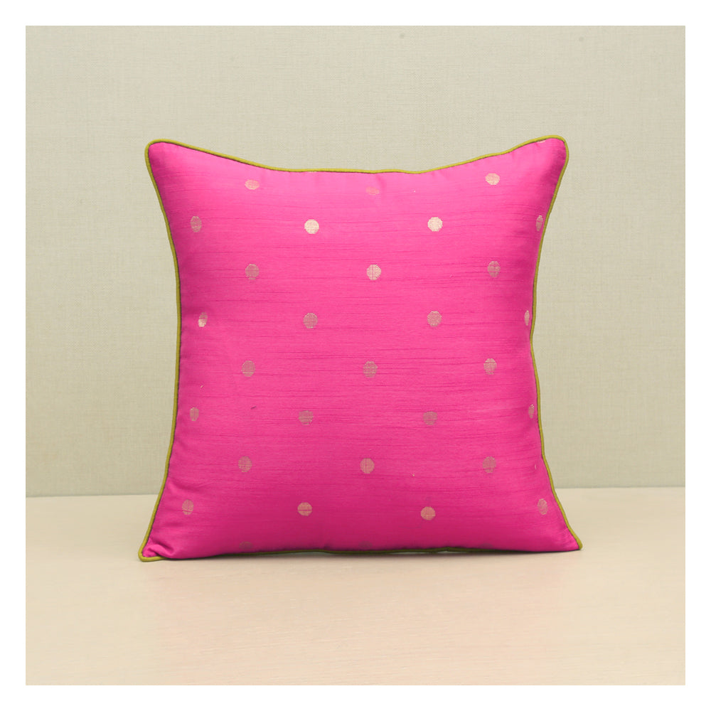 Diya Celebration Cushion - Pink