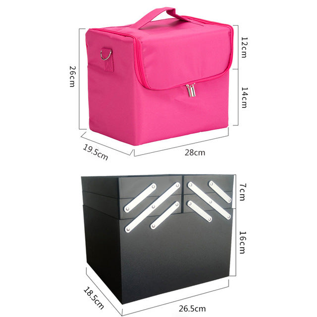 CosmoCase - Travel Cosmetic Organizer