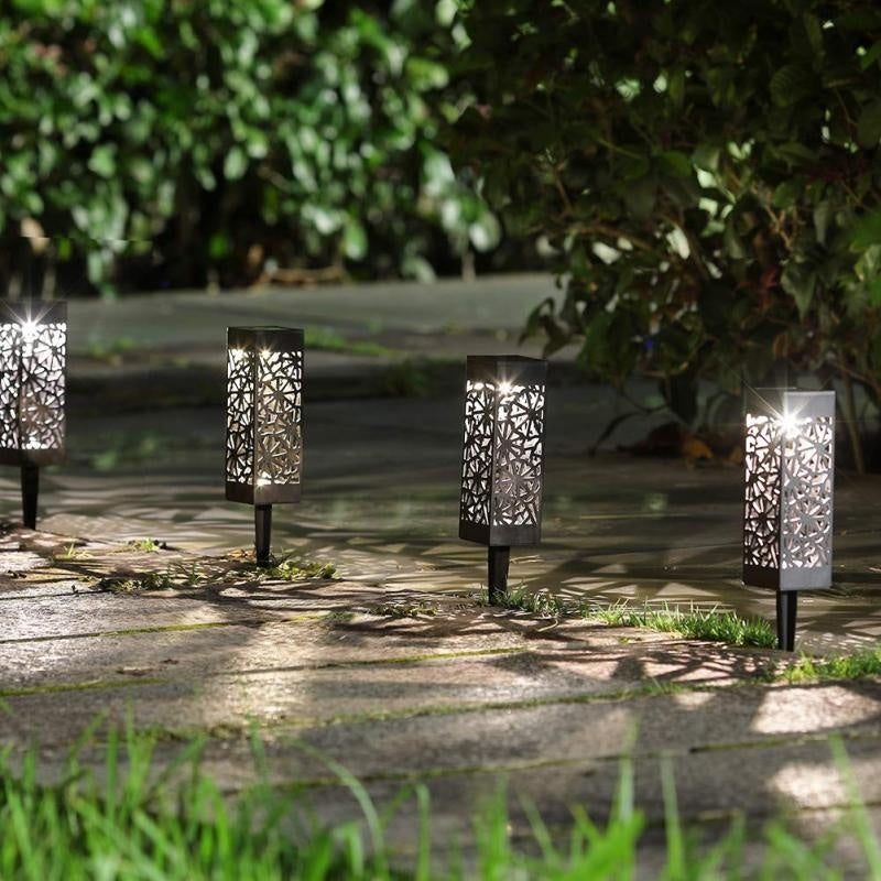 Upflas-FlameBrite Solar Pathway Lights
