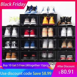 50% OFF - Christmas Night Offer-2019-Sneaker storage box