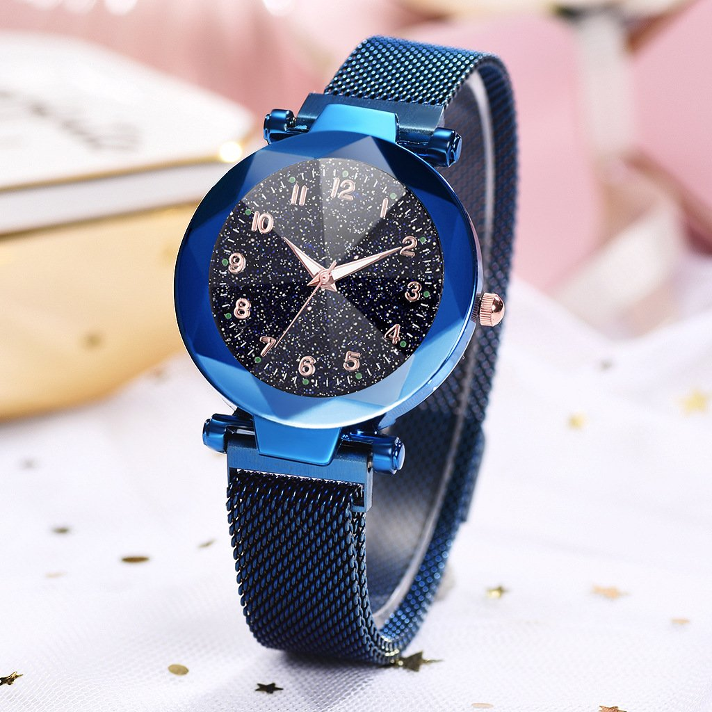 (Gift box)Six Colors Starry Sky Watch Perfect Gift Idea