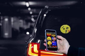 (Limited time offer)First Voice-Controlled Emoji Car Display