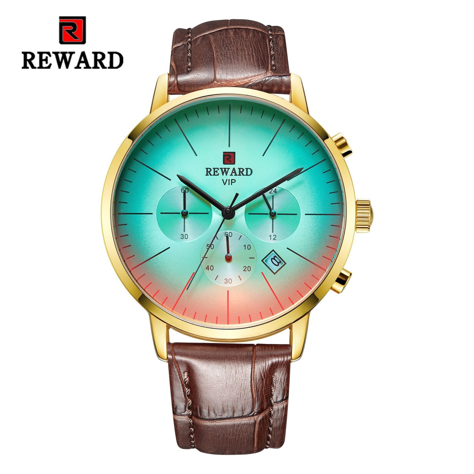 (sell at a low price)2019 new color changing sports quartz men's watch