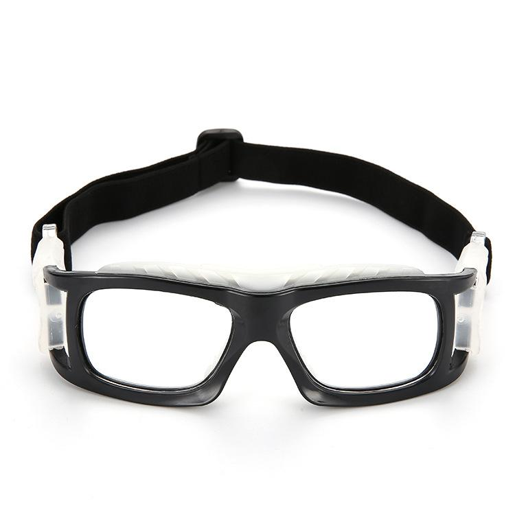 Adjustable elastic anti-fog and splash-proof outdoor sports safety goggles