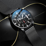 (Limited time offer)Men's waterproof quartz watch