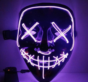 50%OFF-Halloween-Party & Rave Glow Mask